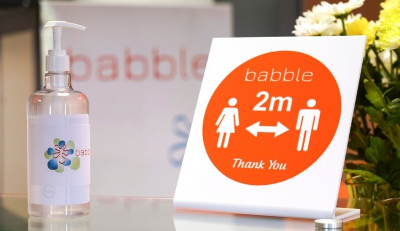 Babble & Covid 19 Safety  -